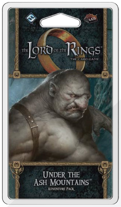 The Lord of the Rings LCG: Under the Ash Mountains Adventure Pack