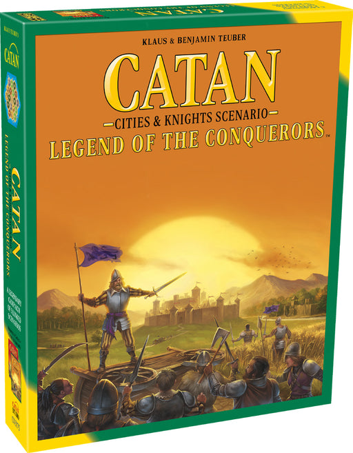 Catan: Cities and Knights - Legend of the Conquerors Scenario (Pre-Order)
