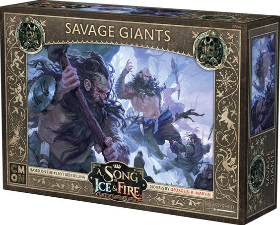 A Song of Ice & Fire Tabletop Miniatures Game: Savage Giants Unit Box