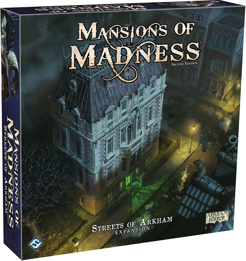 Mansions of Madness 2nd Edition: Streets of Arkham Expansion (Pre-Order) - Boardlandia
