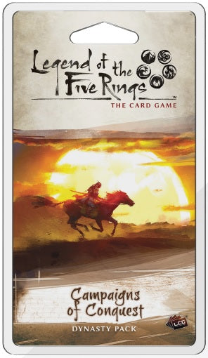 Legend of the Five Rings LCG: Campaigns of Conquest Dynasty Pack (Pre-Order)