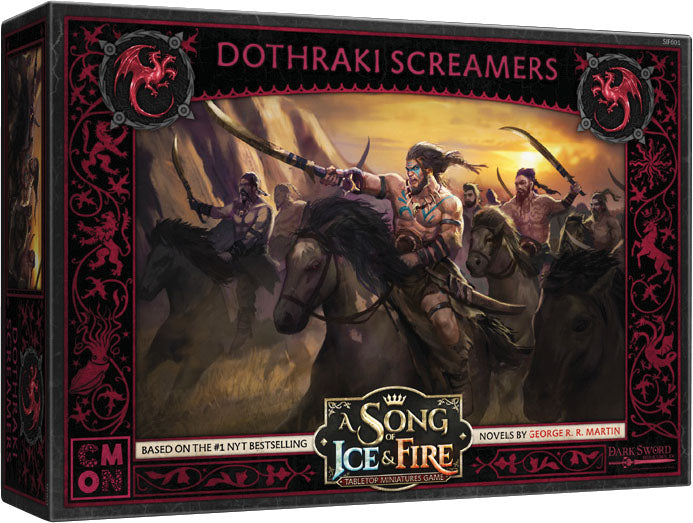A Song of Ice & Fire Tabletop Miniatures Game: Targaryen Dothraki Screamers Unit Box