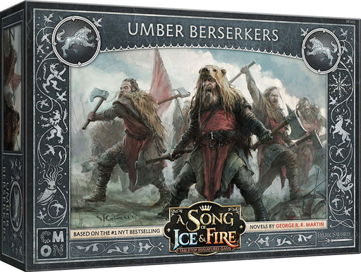 A Song of Ice & Fire Tabletop Miniatures Game: Umber Berserkers Unit Box