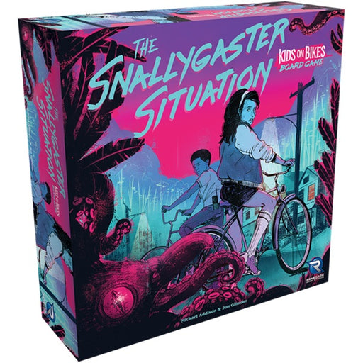 Snallygaster Situation: A Kids on Bikes Board Game (Pre-Order)