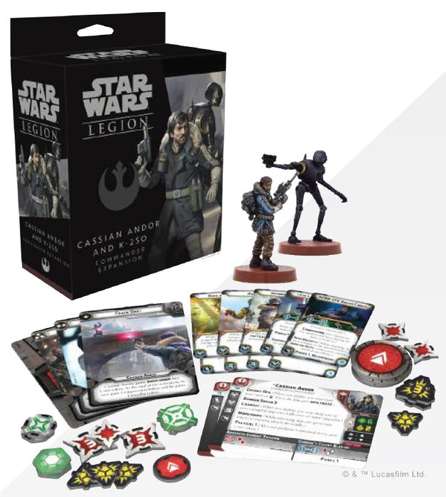Star Wars: Legion - Cassian Andor and K-2SO Commander Expansion