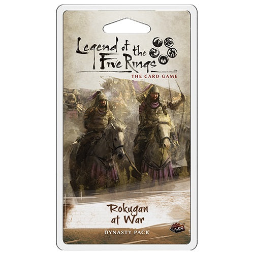 Legend of the Five Rings LCG: Rokugan at War Dynasty Pack (Pre-Order)