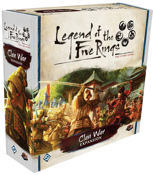 Legend of the Five Rings LCG: Clan War Expansion (Pre-Order)