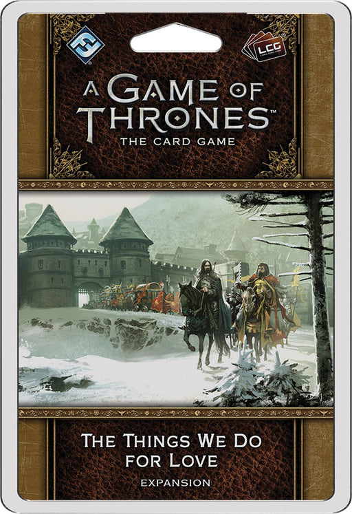A Game of Thrones LCG: 2nd Edition - The Things We Do for Love Premium Pack (Pre-Order)