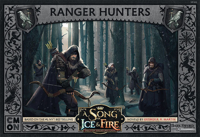 A Song of Ice & Fire Tabletop Miniatures Game: Ranger Hunters Unit Box