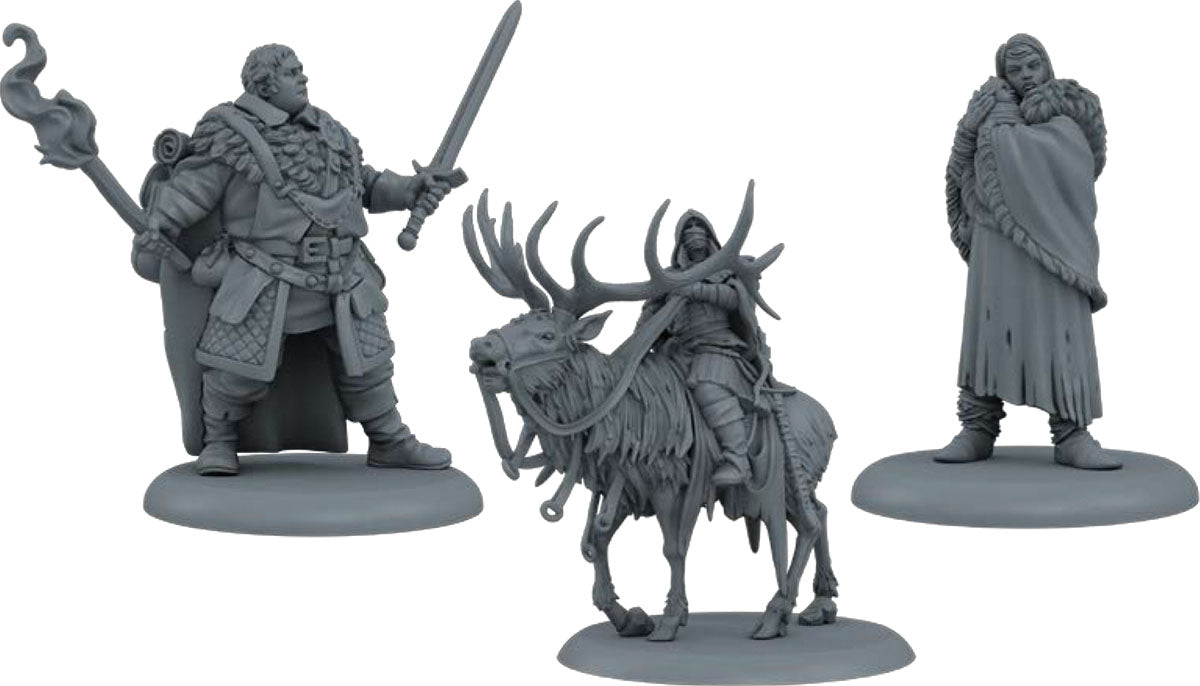 A Song of Ice & Fire Tabletop Miniatures Game: Night's Watch Heroes Box II (Pre-Order)