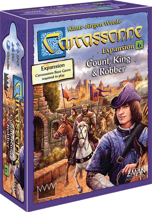 Carcassonne - Count, King, And Robber
