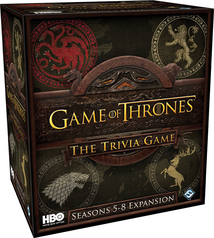 HBO Game of Thrones: The Trivia Game - Seasons 5-8 Expansion