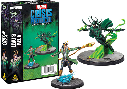 Marvel: Crisis Protocol - Loki and Hela Character Pack (Pre-Order)