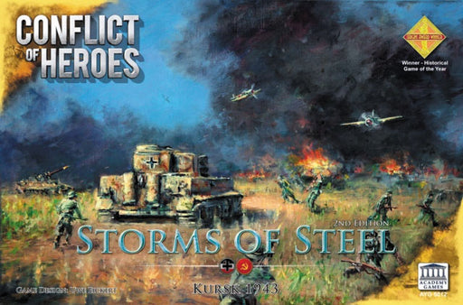 Conflict of Heroes: Storms of Steel - Kursk 1943 3rd Edition (Pre-Order)