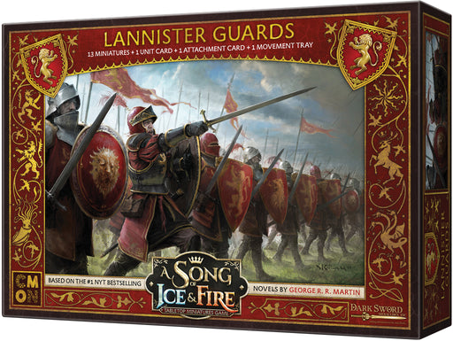 A Song of Ice & Fire Tabletop Miniatures Game: Lannister Guardsmen Unit Box