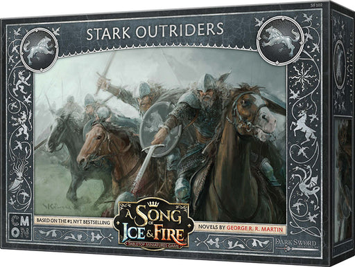 A Song of Ice & Fire Tabletop Miniatures Game: Stark Outriders Unit Box