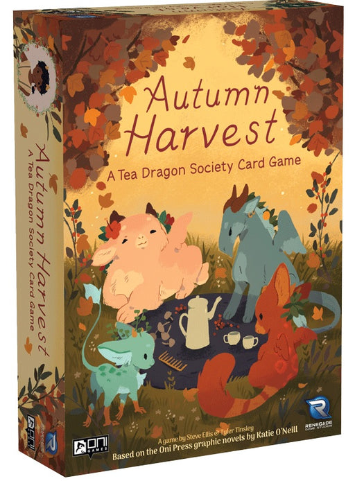 Autumn Harvest: A Tea Dragon Society Card Game (Stand Alone or Expansion)