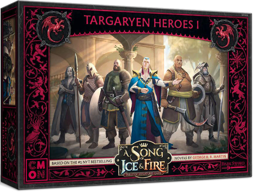 A Song of Ice & Fire Tabletop Miniatures Game: Targaryen Heroes I