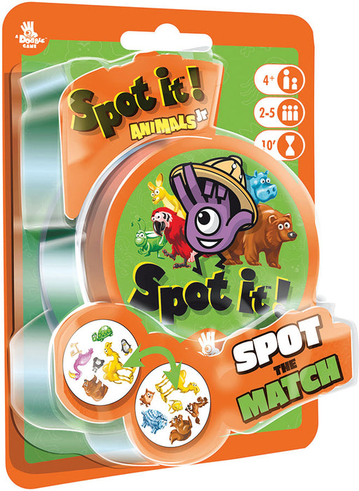 Spot It! Junior: Animals (peg/blister)