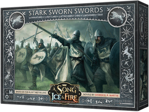 A Song of Ice & Fire Tabletop Miniatures Game: Stark Sworn Swords Unit Box