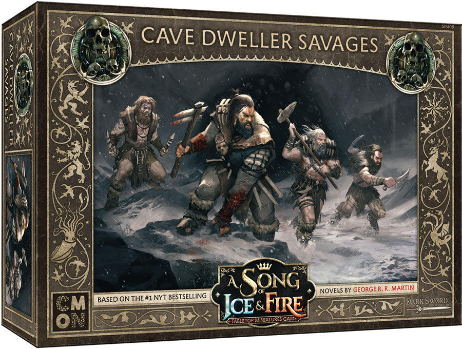 A Song of Ice & Fire Tabletop Miniatures Game: Cave Dweller Savages Unit Box