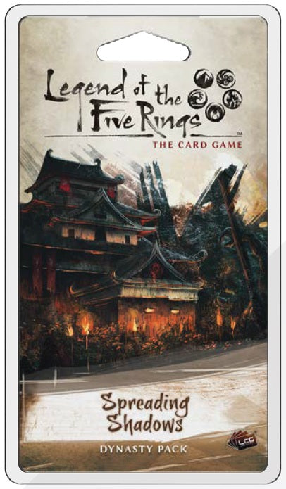 Legend of the Five Rings LCG: Spreading Shadows Dynasty Pack (Pre-Order)