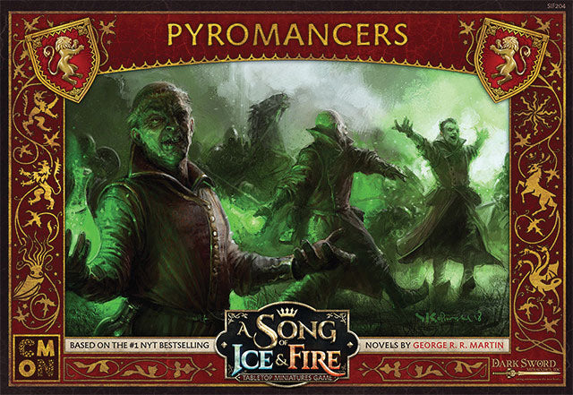 A Song of Ice & Fire Tabletop Miniatures Game: Pyromancers Unit Box