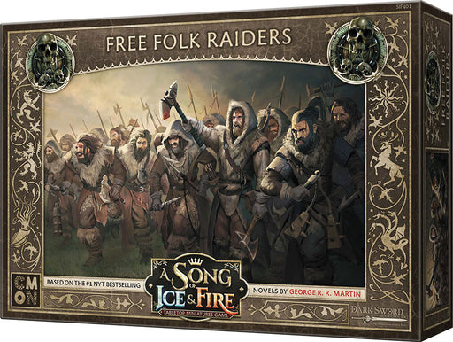A Song of Ice & Fire Tabletop Miniatures Game: Free Folk Raiders Unit Box