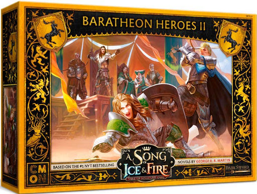 A Song of Ice & Fire Tabletop Miniatures Game: Baratheon Heroes II (Pre-Order)