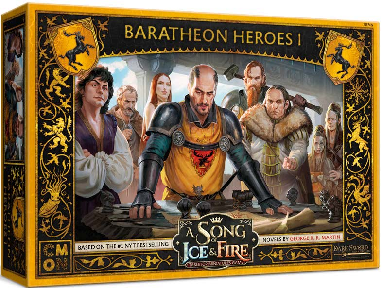A Song of Ice & Fire Tabletop Miniatures Game: Baratheon Heroes I