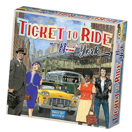 Ticket To Ride: New York (Pre-Order)