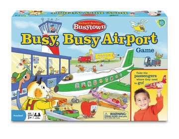 Richard Scarry's Busytown - Busy, Busy Airport Game