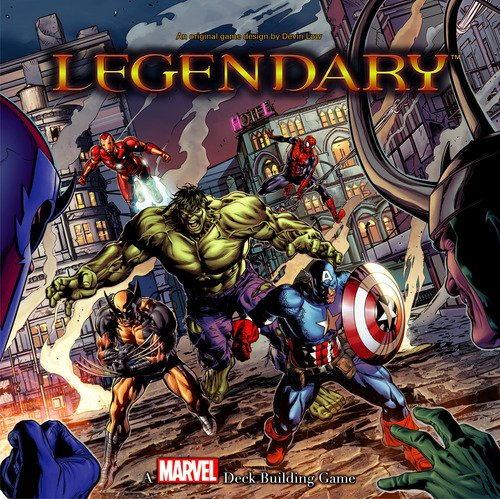 Legendary Marvel Deck Building Game - Boardlandia