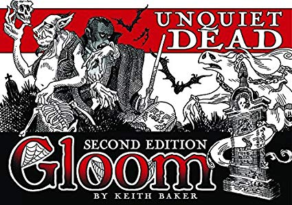 "Gloom 2E: ""Unquiet Dead"" Expansion"