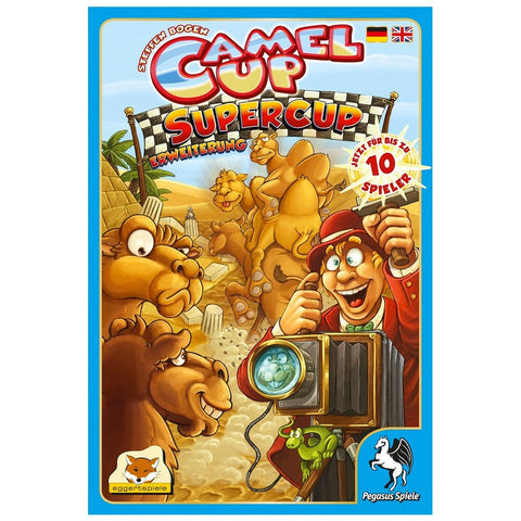 Camel Up: Super Cup Expansion - Boardlandia