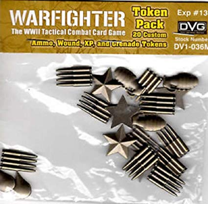 Warfighter WWII Expansion 13: Metal Tokens