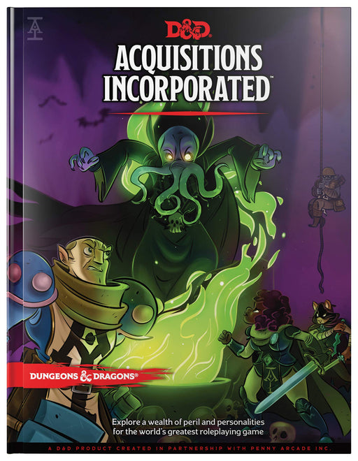 Dungeons and Dragons: Acquisitions Incorporated (Pre-Order)