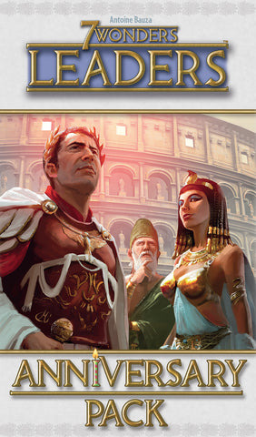 7 Wonders: Leaders Anniversary Pack Expansion