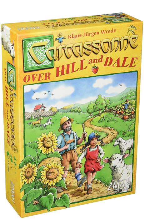 Carcassonne - Over Hill And Dale - Boardlandia