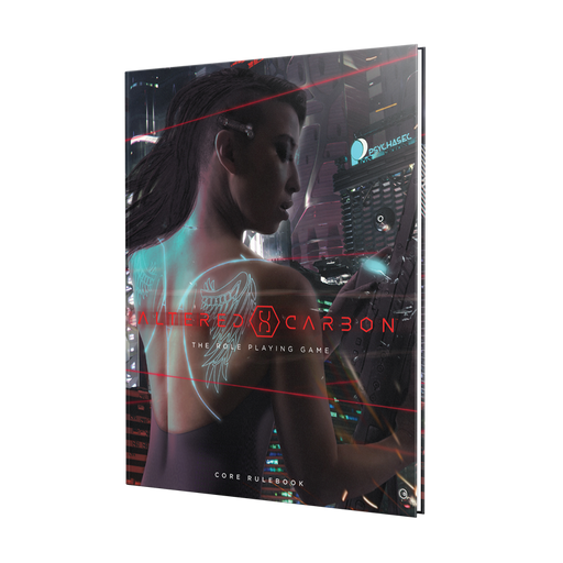 Altered Carbon RPG: Core Rulebook Hardcover (Pre-Order)
