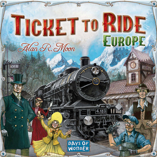 Ticket To Ride Europe - Boardlandia