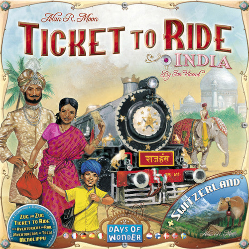 Ticket To Ride: India - Boardlandia