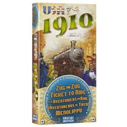 Ticket To Ride: Usa 1910 Expansion - Boardlandia