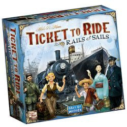 Ticket To Ride: Rails And Sails - Boardlandia