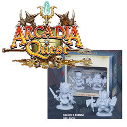 Arcadia Quest - Haldor And Brenna - Boardlandia