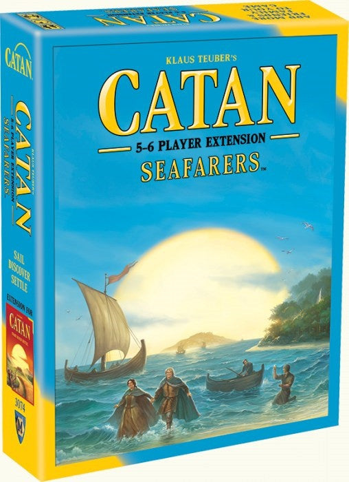 Catan: Seafarers 5-6 Player Extension - Boardlandia