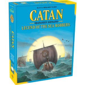 Catan: Legend of the Sea Robbers Expansion (Pre-Order) - Boardlandia