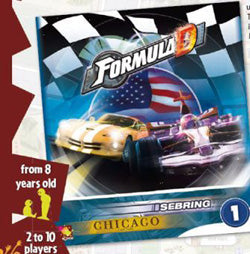 Formula D: Expansion 1 - Sebring and Chicago - Boardlandia