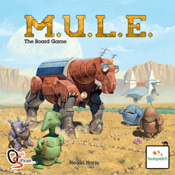 Mule (M.U.L.E. The Board Game) - Boardlandia