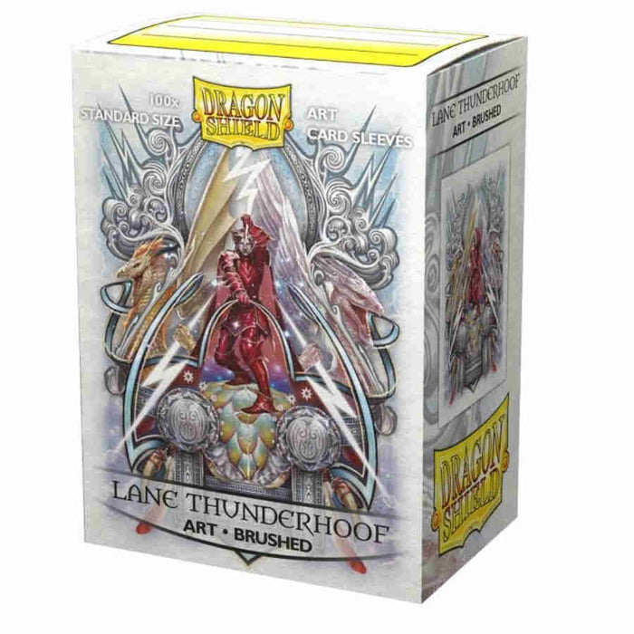 Dragon Shield Sleeves: Brushed Art Lane Thunderhoof: Coat of Arms (Box of 100) - Limited Edition